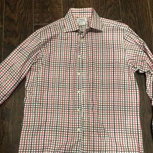 T.M. Lewin Lewin 100 Mens button down shirt